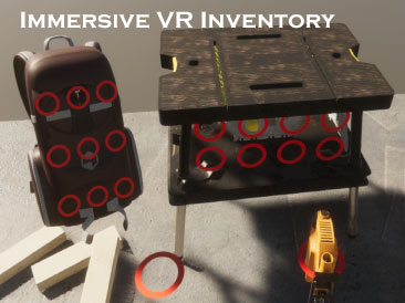 Immersive VR Inventory