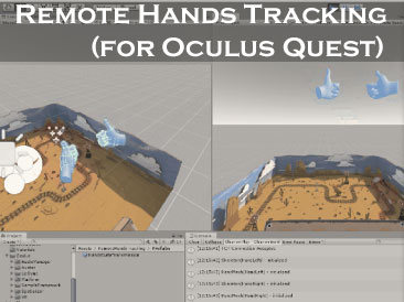 Remote hands tracking
